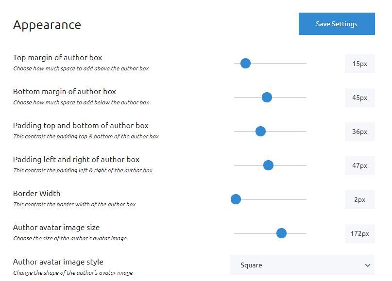 Simple Author Box Appearance
