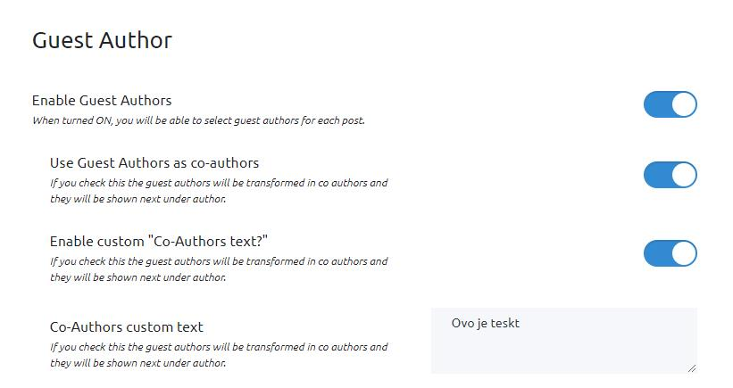 Simple Author Box Guest Author