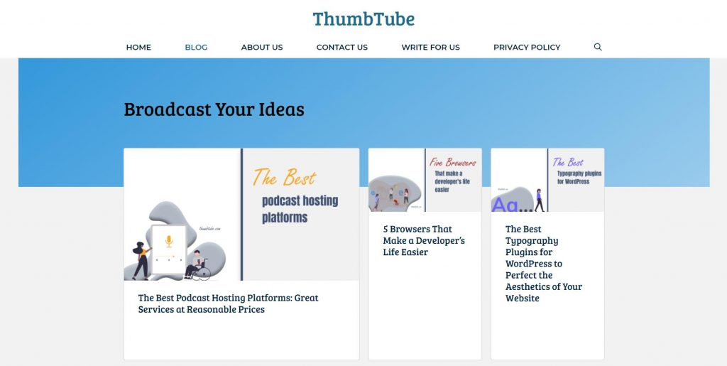 ThumbTube